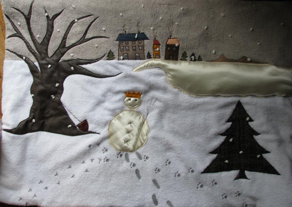 """Tapis """"Cousette à Conter"""" : L'hiver"""