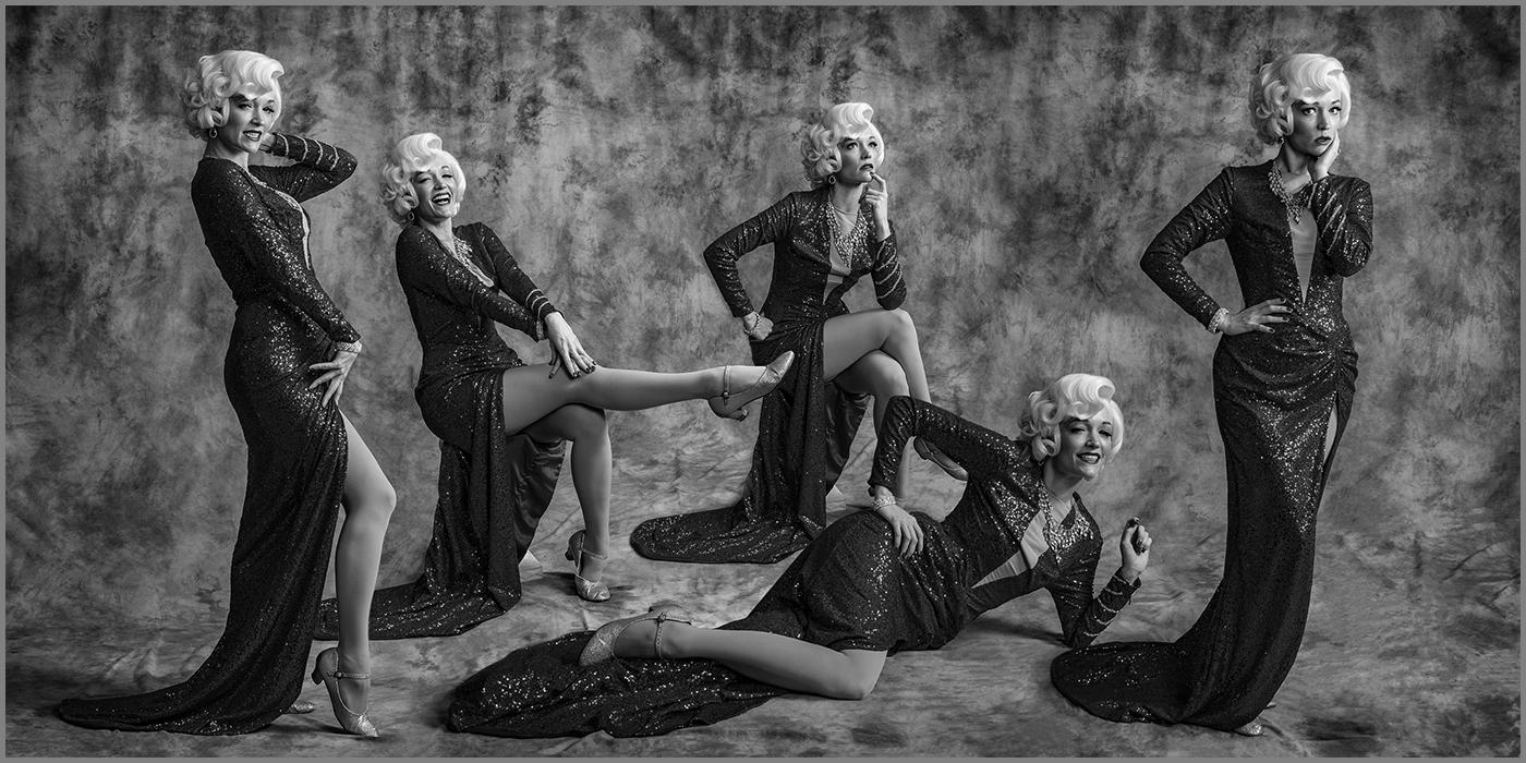 "Arranged Mono: ""Kalinda as Marilyn Monroe"" by Paul Speaker"