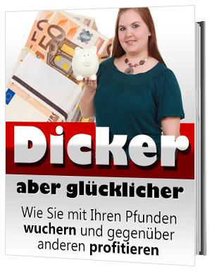 E-Book: Dicker aber glücklicher