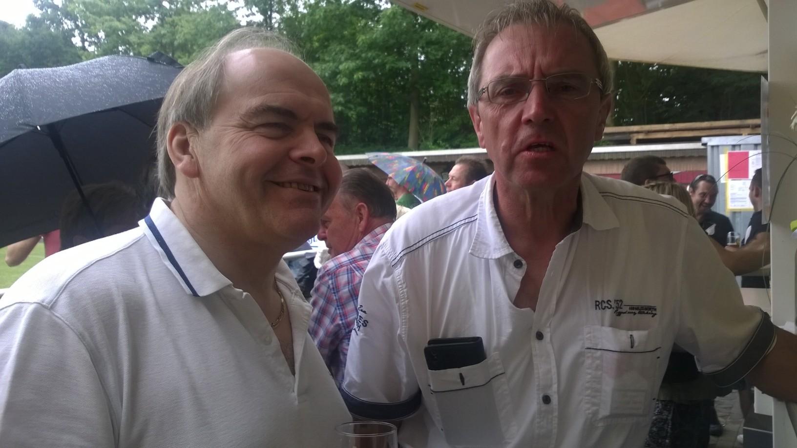 Edgar Müller und Walter Scholl