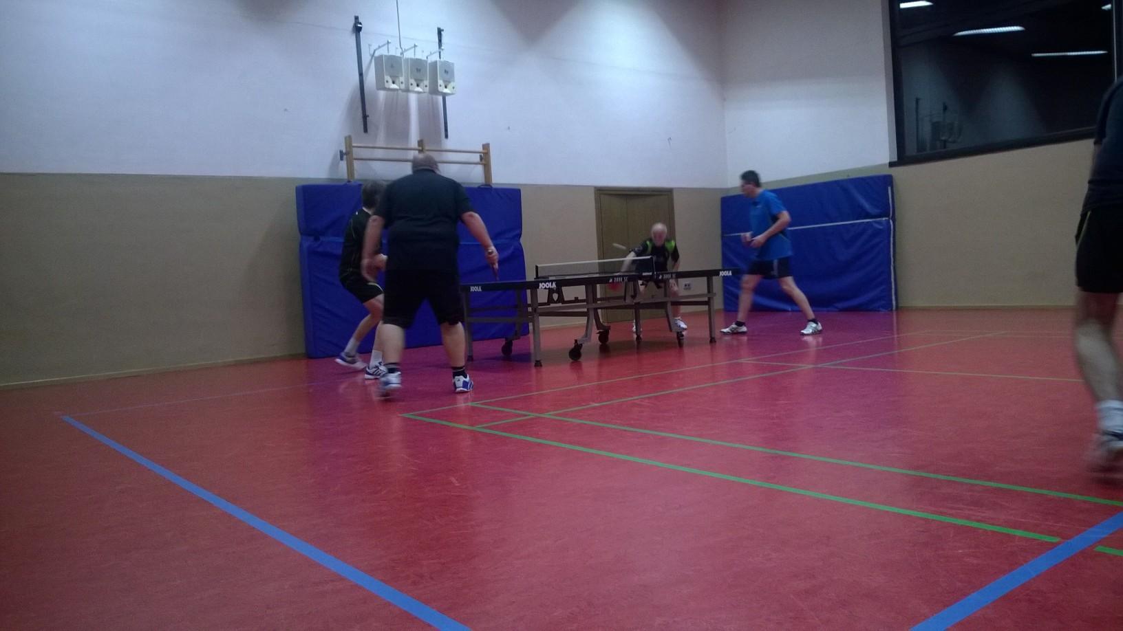 Im Doppelfinale behielt Jürgen und Werner die Oberhand über Kai und Roland