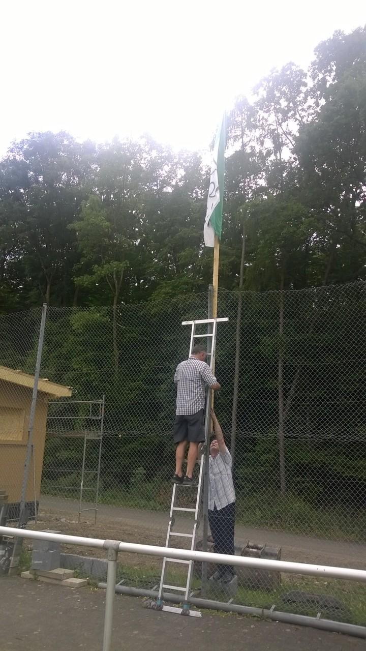.. wird die Flagge wieder gesetzt
