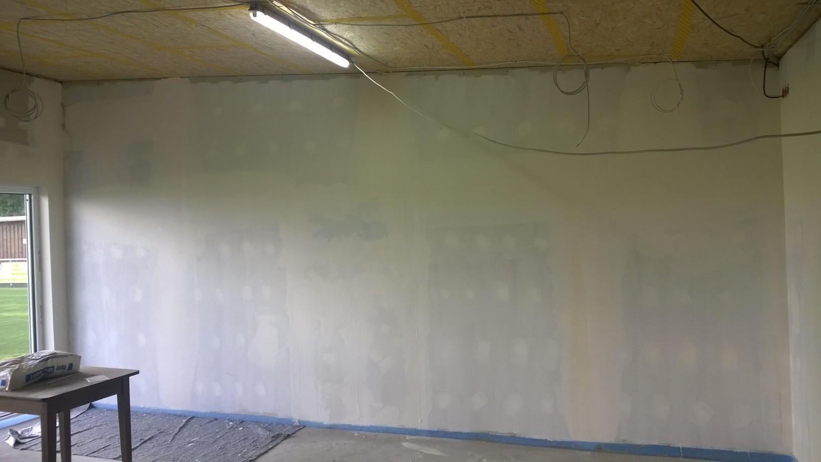 Diese Wand erhält ein besonderes Schmankerl ...