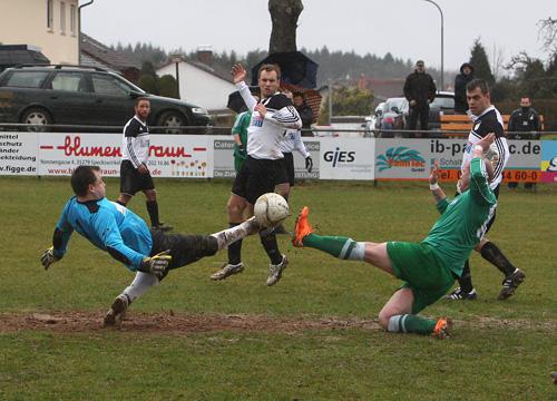 29.03.2015 TSV Speckswinkel - Spvgg.; Endstand 1:3