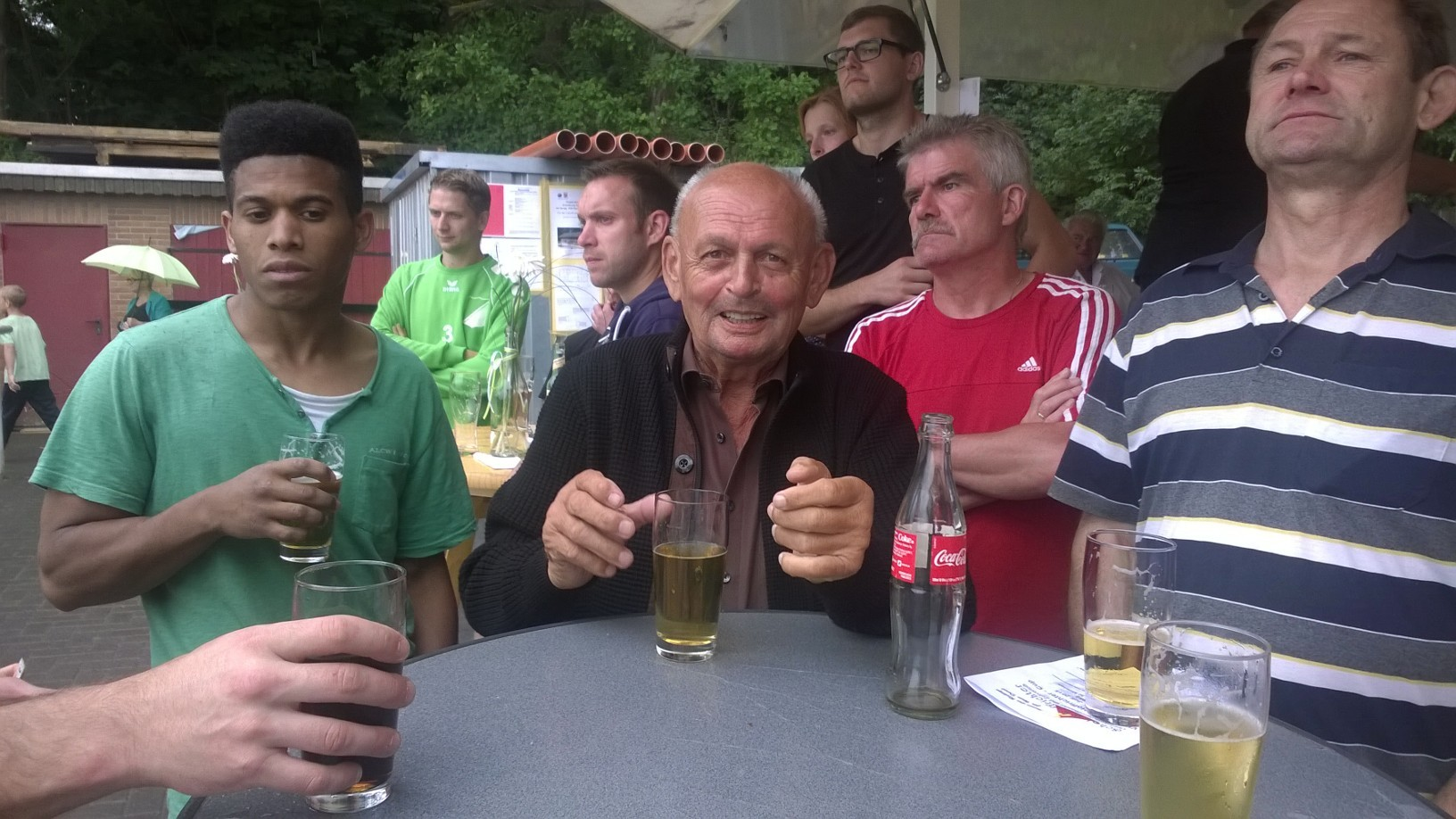 Paul mit den Freunden aus Rüddingshausen