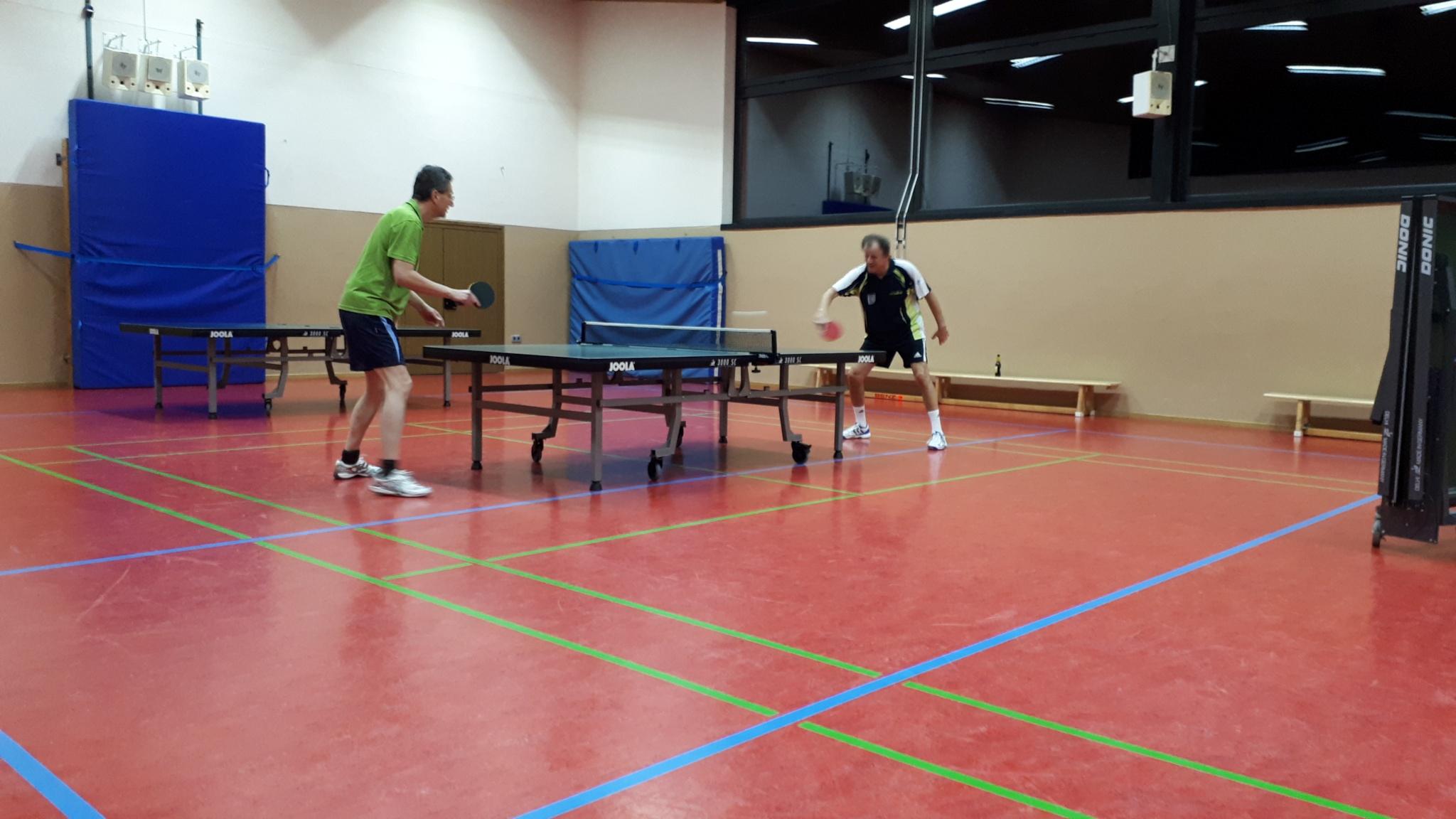 Reinhard setzte sich in der Trostrunde gegen Jürgen durch