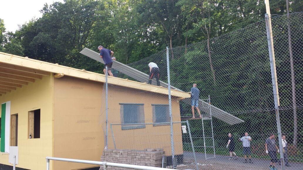 auf dem Dach - die Spezialisten