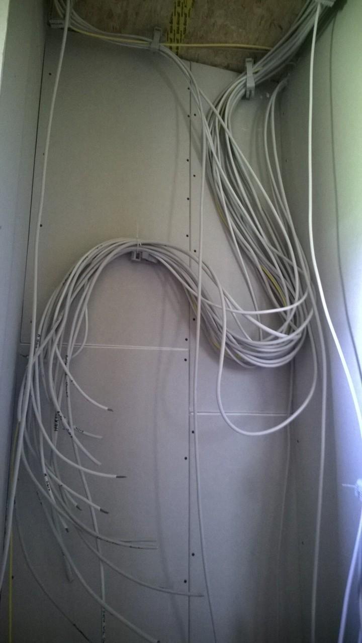 das wird schon werden - die Elektroverteilung