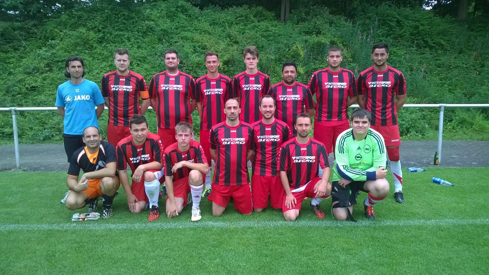 SG Niederklein/Schweinsberg (Sieger der gruppe C) bereit zum 2. Halbfinale