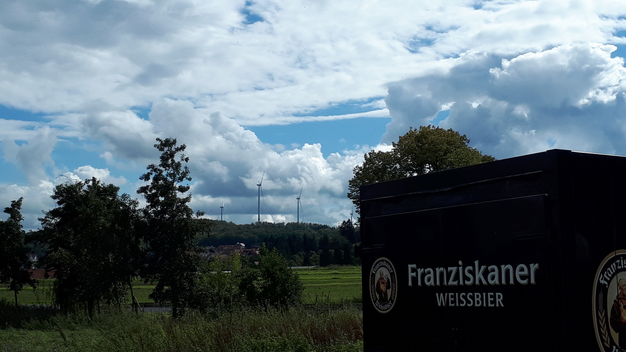 Wolkengemälde