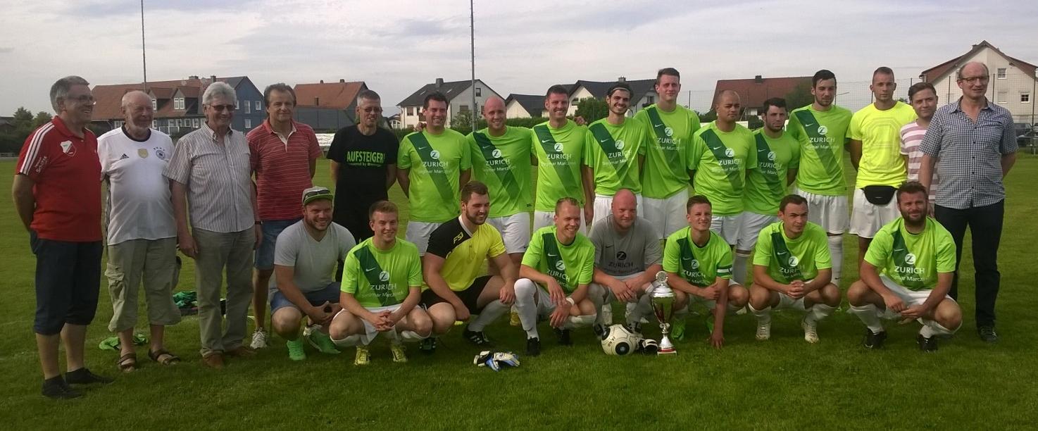 Der Sieger im Rhiel Cup 2016 - die Spvgg.