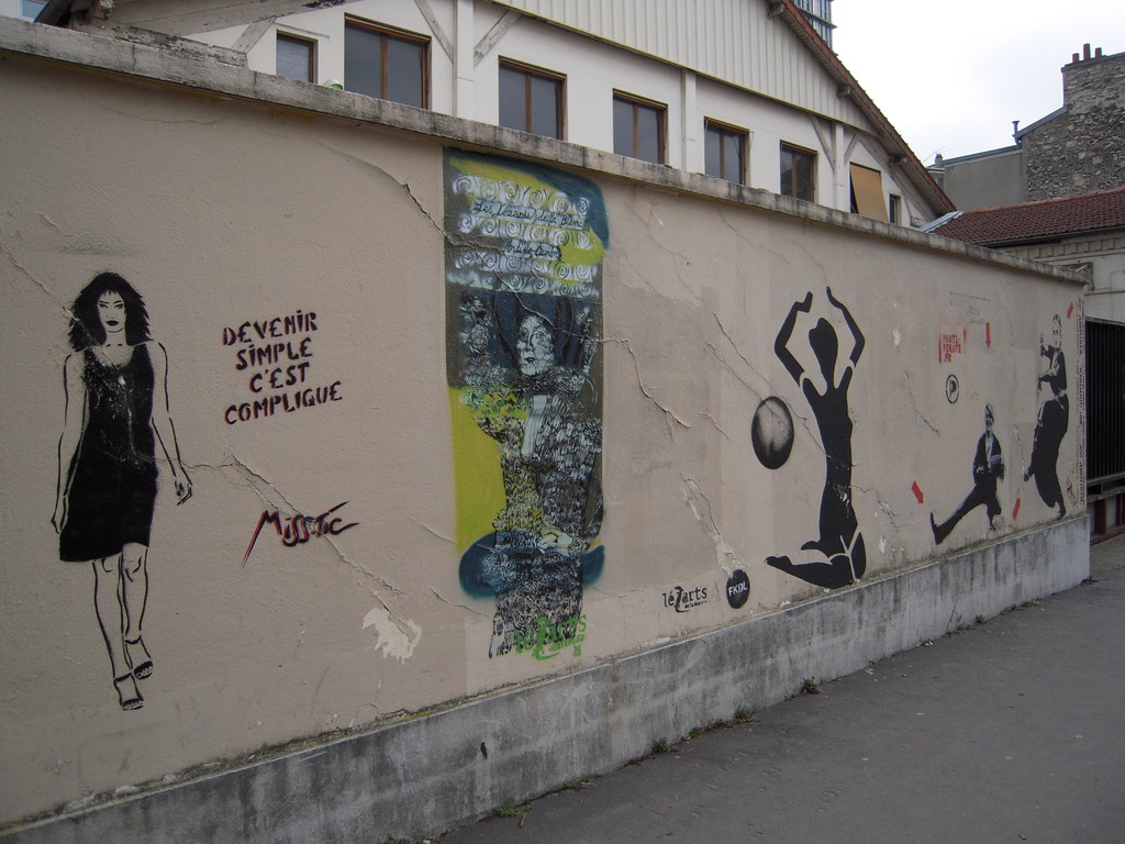 Graffitis Misstic, Paris (75)