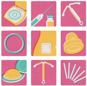 Les méthodes de contraception