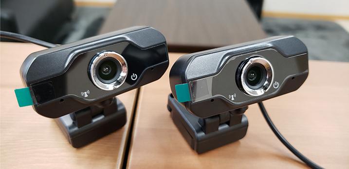 Webカメラ:リモート会議等にご利用下さい[共用]