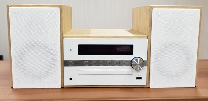 CDコンポ:CD再生やBluetooth再生も可[Room-B]