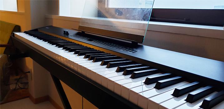 ROLAND88鍵エレピ。スピーカー内蔵で気軽にピアノ練習も出来ます。[Room-B]