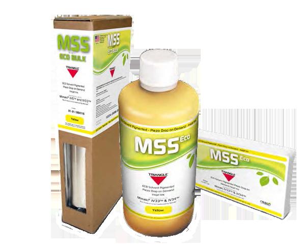 MSS als Ersatz für Mimaki Tinte SS21