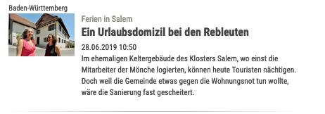 Urlaub in Kulturdenkmal am Bodensee