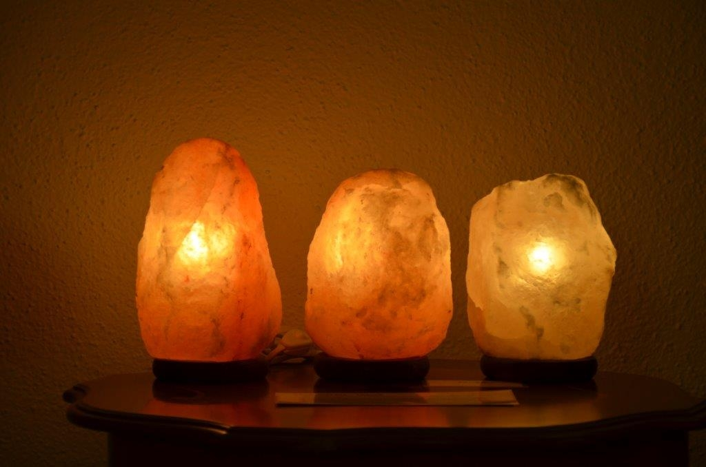 Salzkristall Lampen ab Fr. 25.-