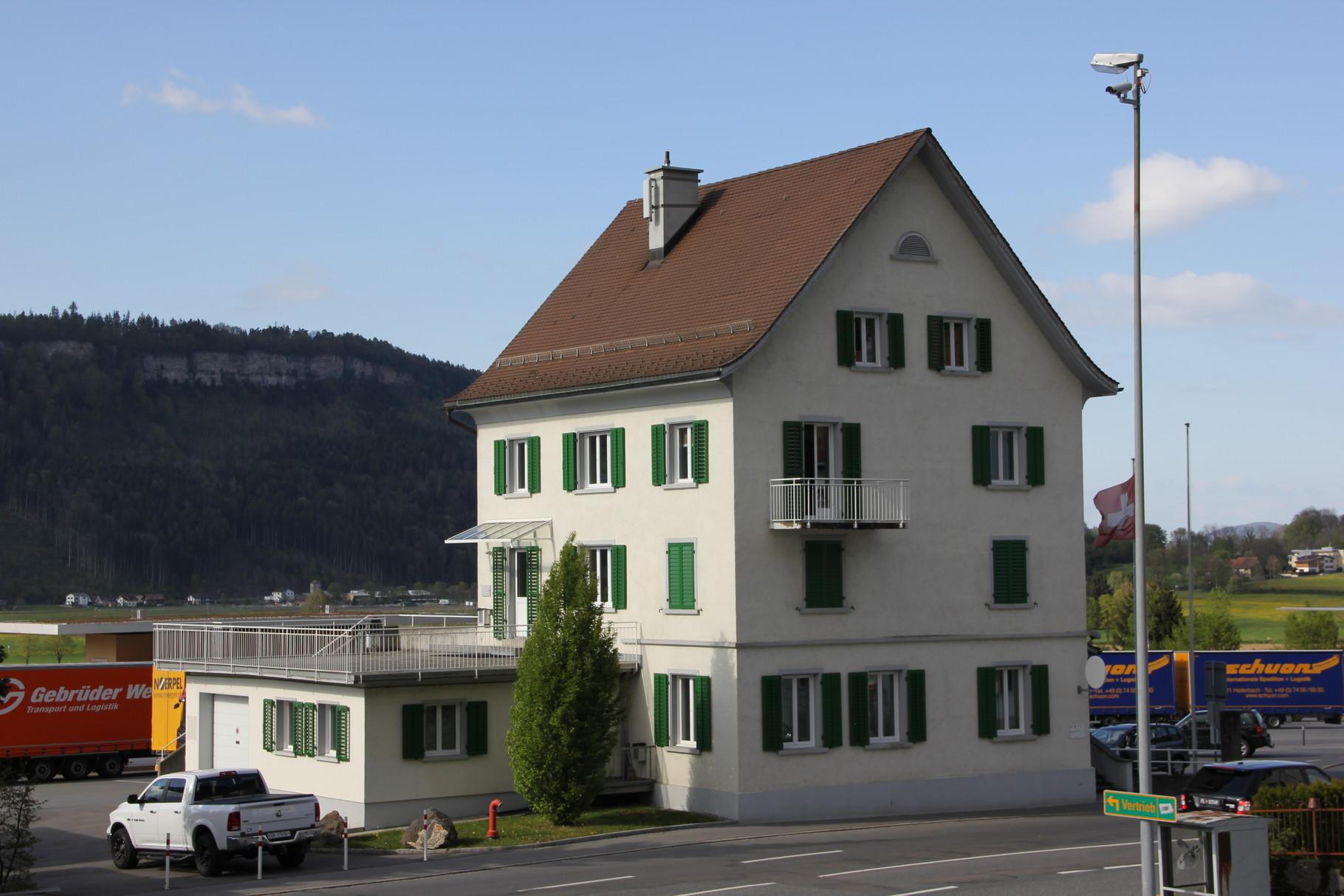 Zollhaus 227 Schaanwald