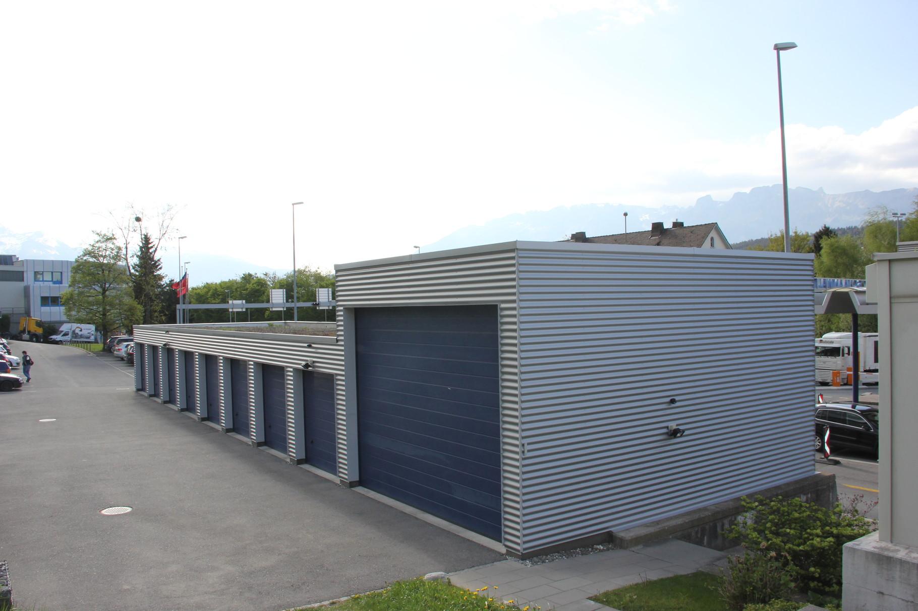 Zoll Garagen Schaanwald