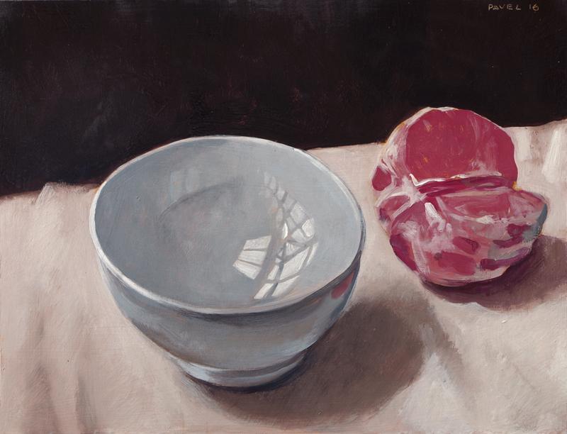 Pavel Feinstein: *N 2112*, 2016, Tempera/Hartfaser, 30 x 40 cm