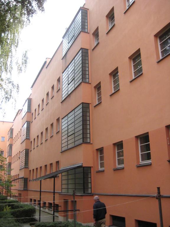 Rückfassade Hardanger Straße 3