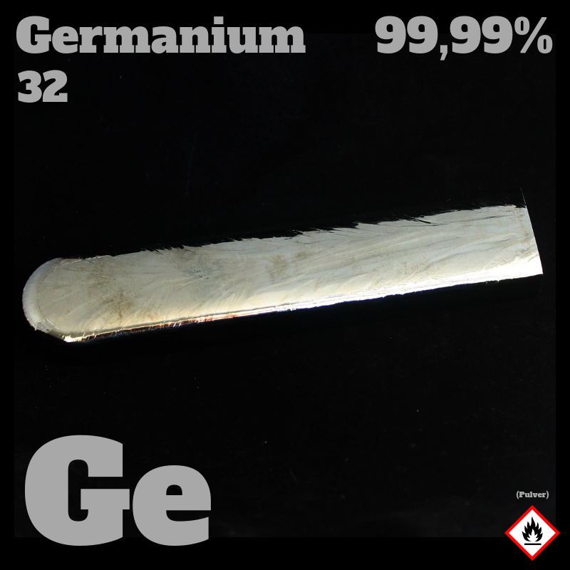 1 kg Germanium Barren 5N  © Strategic Elements 2019