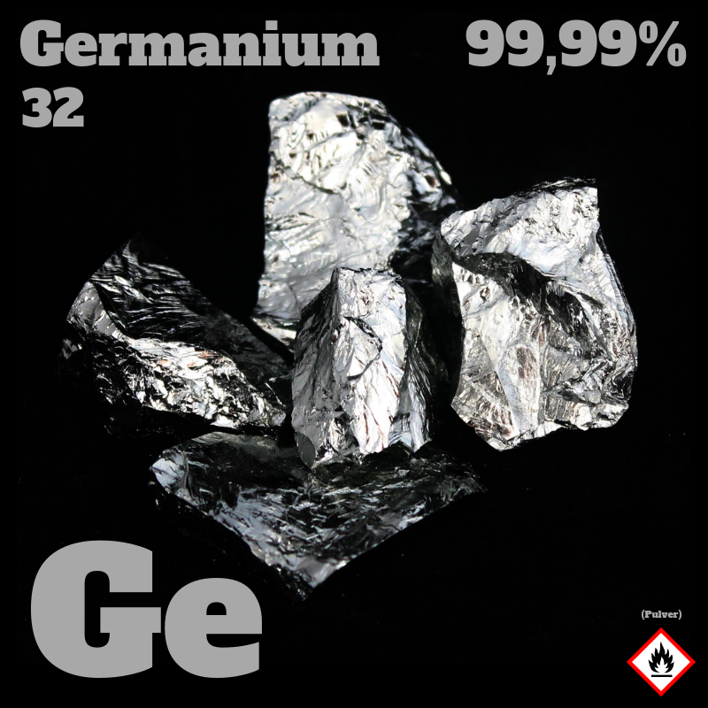 100 g Germanium Bruchstücke 5N  © Strategic Elements 2019