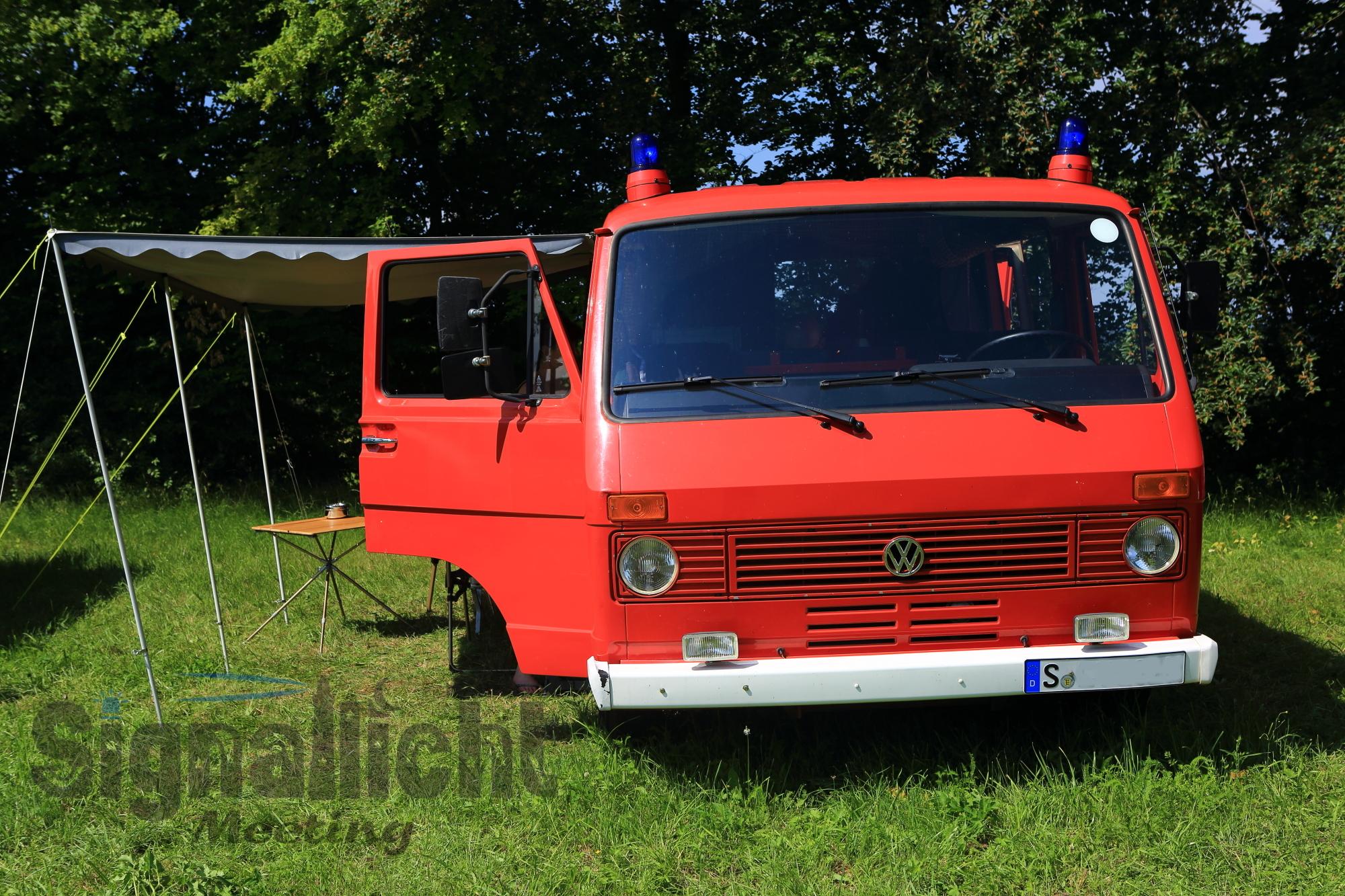 Jürgen und sein alter Feuerwehr LT