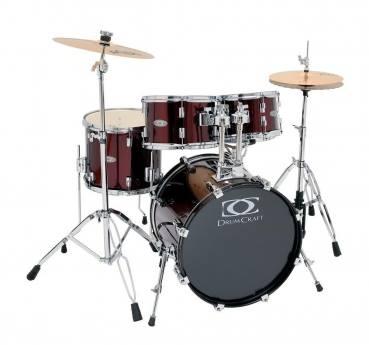 "SERIE 3 Poplar - 20"" 10"" 12"" 14"" 14""x5"" - inkl. Hardware & Cymbals"
