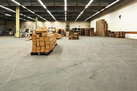 Gussasphalt Beschichtungen, Lagerhallen WOG Logistics