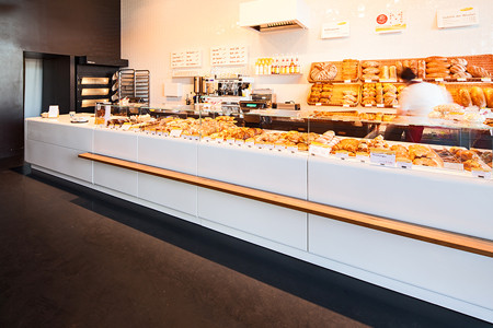 Gussasphaltbelag, Loftboden, Mangold Bäckerei Bregenz