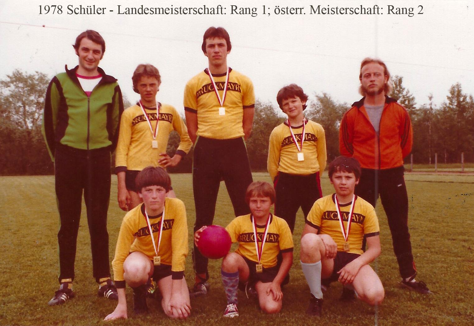 1978 Schüler-Landesmeisterschaft: Rang 1; österr. Meisterschaft: Rang 2