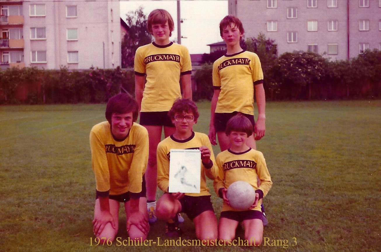 1976 Schüler-Landesmeisterschaft: Rang 3