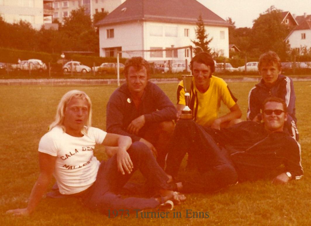 1973 Turnier in Enns