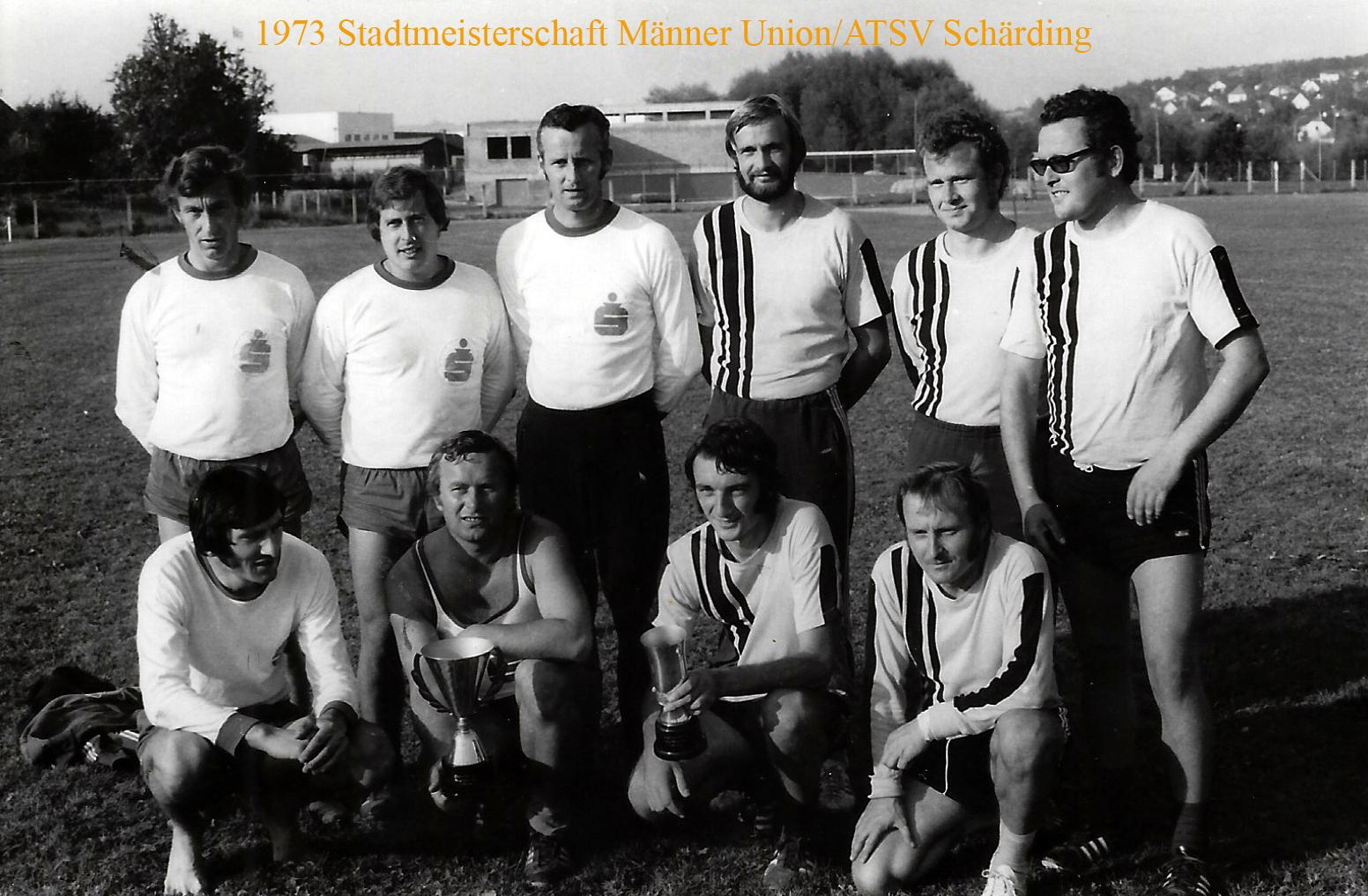1973 Stadtmeisterschaft Männer Union/ATSV Schärding