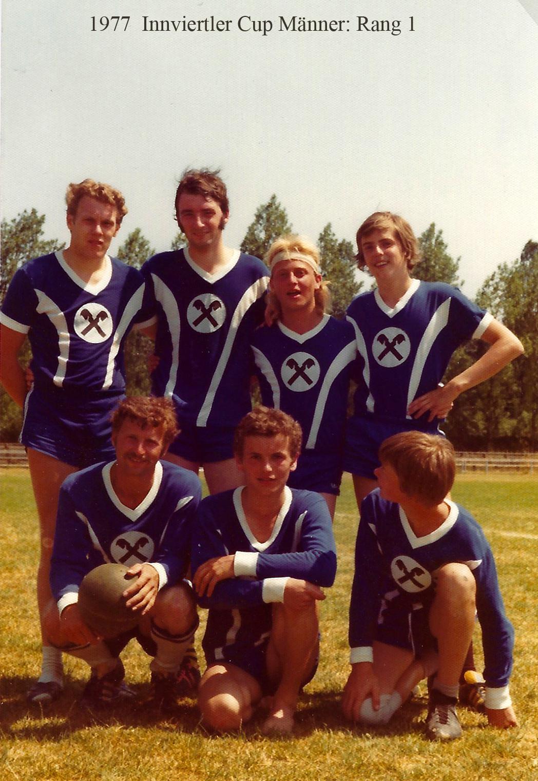 1977 Innviertler Cup Männer: Rang 1