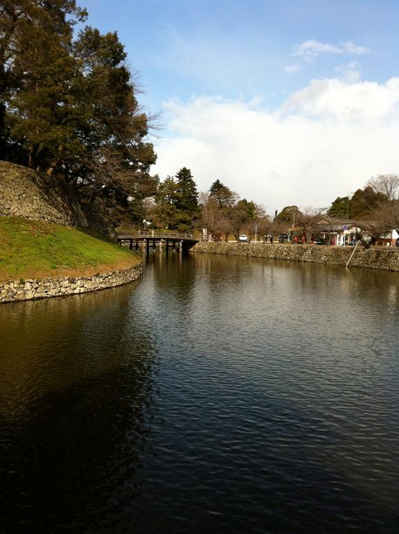 彦根城の水堀