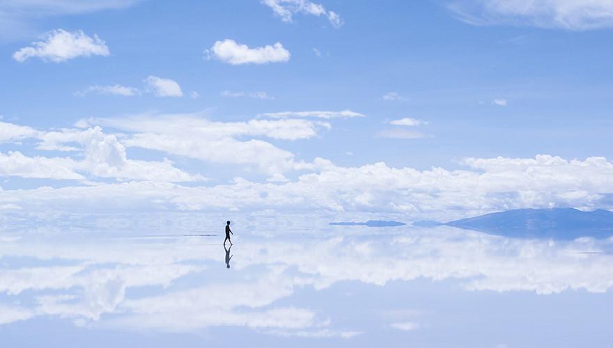 ファイナルボーイのイメージ ※ウユニ塩湖