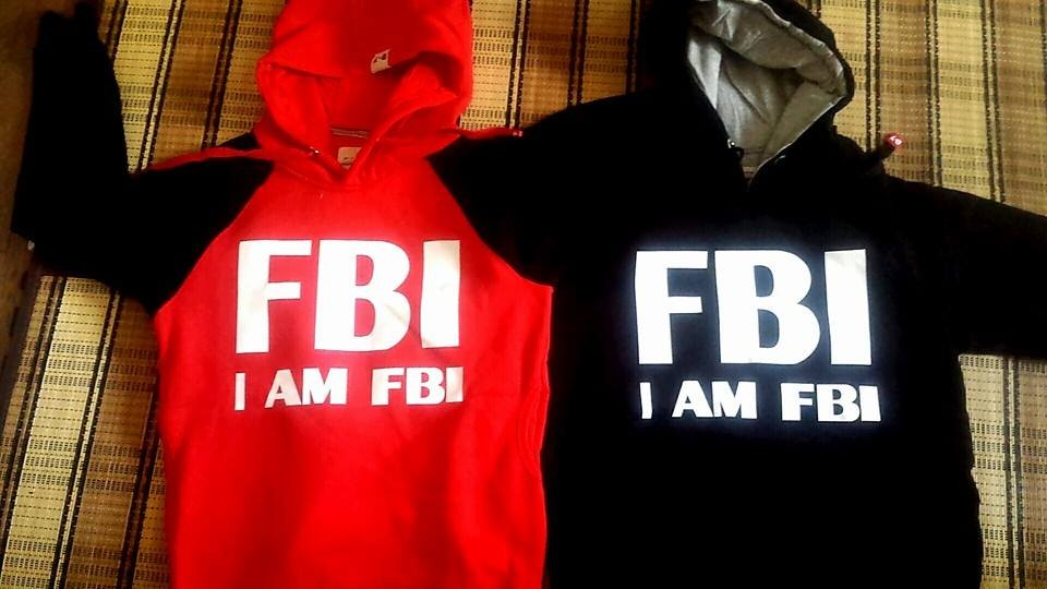 I AM FBI (私達は国際的な最後の少年) ユニフォーム★