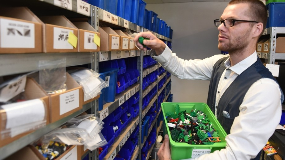Über 1 Million LEGO Ersatzteile permanent auf Lager