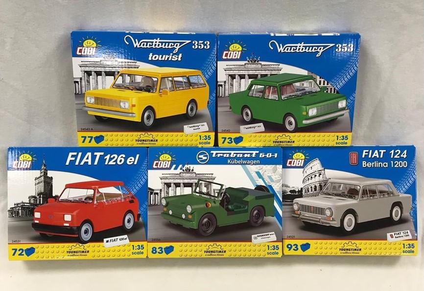 COBI Youngtimer Collection - Du suchst einen Trabant oder Wartburg?
