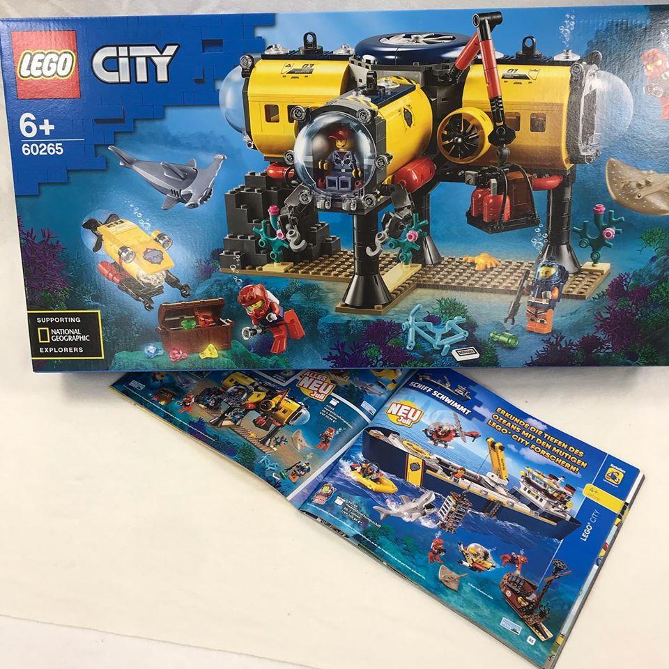 LEGO City - Auf der Suche nach der COBI Bismarck