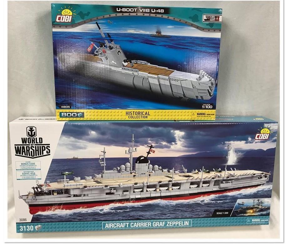 COBI Historical Collection - Schiffe, U-Boote, Flugzeuge und Panzer