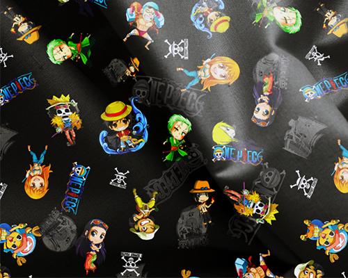 one piece fabric,  tela de one piece, tela manga, tela anime, anime fabric, manga fabric,