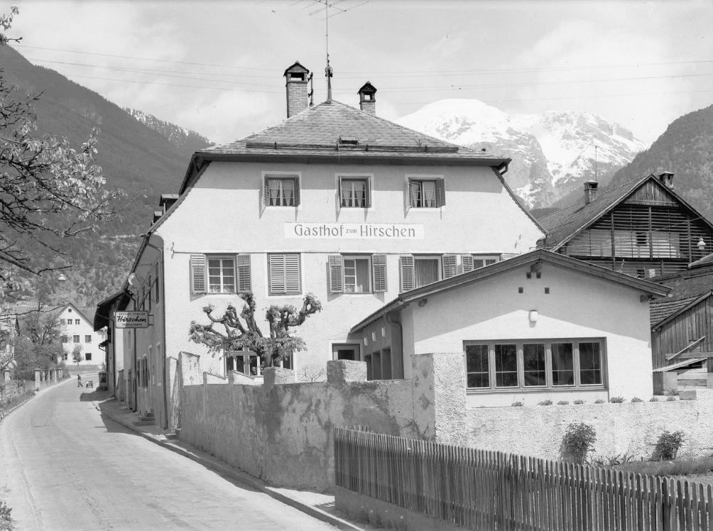 Gasthof Hirschen im Jahre 1965