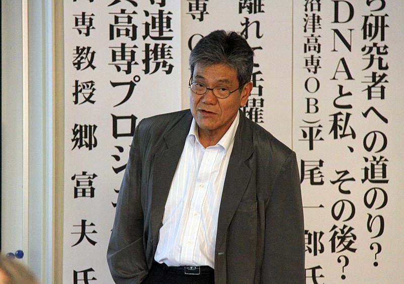 石崎幸三 長岡技術科学大学名誉教授・同大元副学長による、教え子 故木山聡さん(八代高専OB)の人柄を偲ぶ。