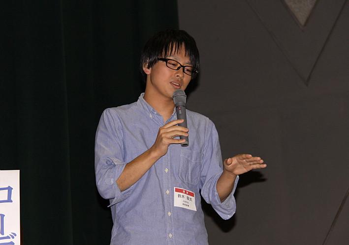 鈴木駿太さん(群馬・東工大)=ZENPEN 代表