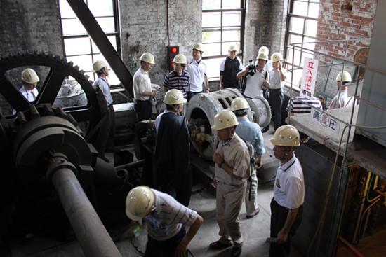 近代化産業遺産群 三池炭鉱万田坑(1902年開坑)見学(2010年6月HNK有明総会翌日)